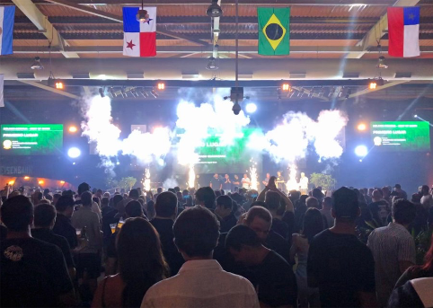 Annuncio dei vincitori al contest di Rio de Janeiro
